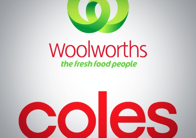 WW and Coles logos